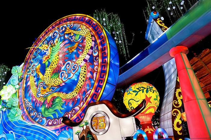第二十三届自贡国际恐龙灯会图片欣赏
