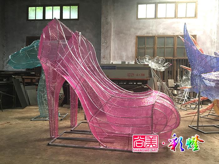 2017年河南郑州客户订购一批灯光节彩灯